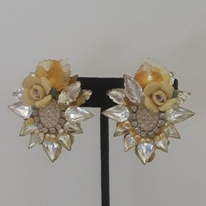 Jewelry - HANDMADE Statement Earrings from the 80's